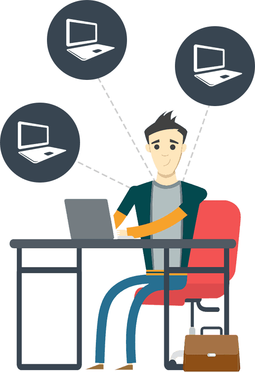 installation sur plusieurs ordinateurs PC ou MAC